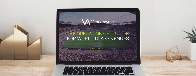 VenueAware website design by Upper Notch.