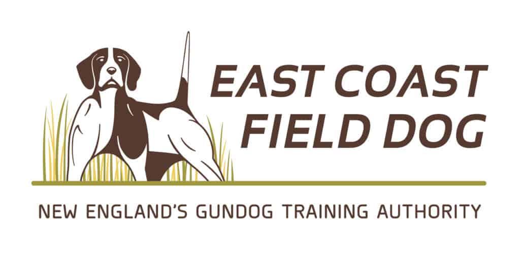 East Coast Field Dog logo and tagline by Upper Notch.